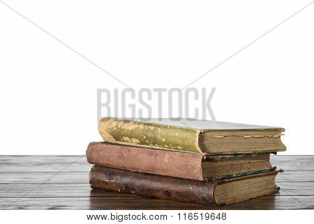 Old Book On The Table