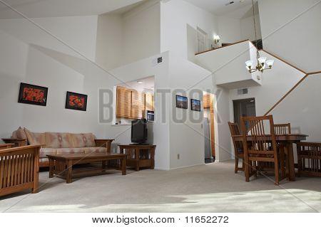 Sunny Condo Living Room