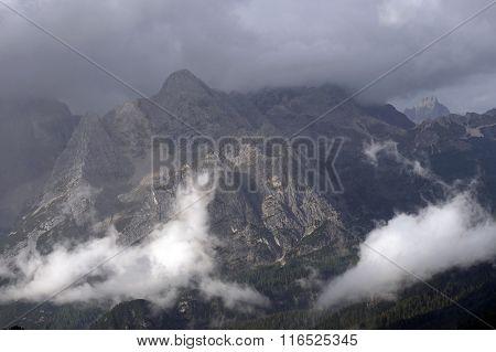 Cadini di Misurina in the Dolomites, Italy, Europe