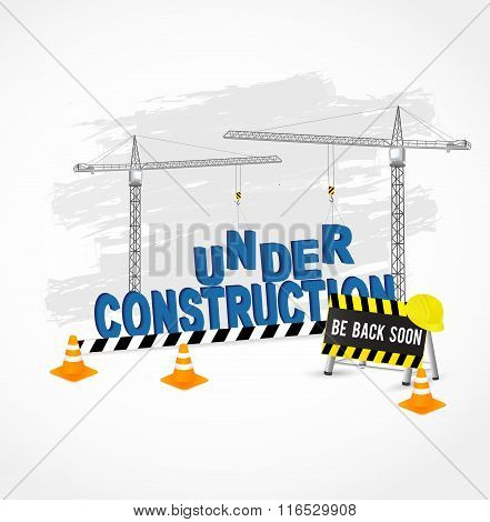 Under construction page for web site.