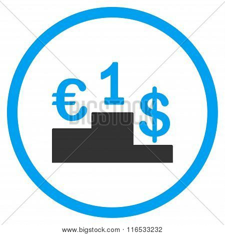 Currency Competition Rounded Icon