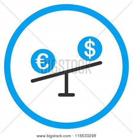 Currency Market Rounded Icon