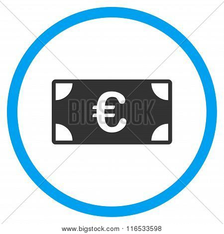 Euro Banknote Rounded Icon