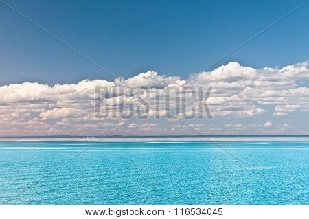 Heaven Horizon Serene Waters
