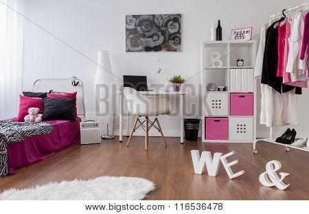 Punk Girl Room Design
