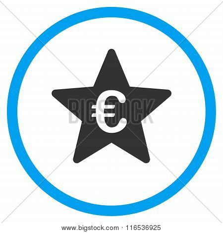 Euro Hit Parade Star Rounded Icon