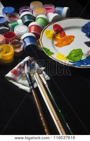 Painting Set Gouache