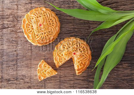 Moon Cakes For Mid-autumn Fastival