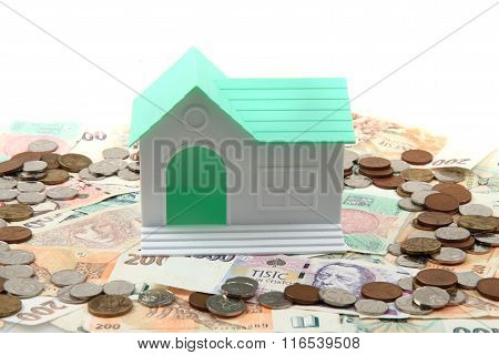 Czech Money And House