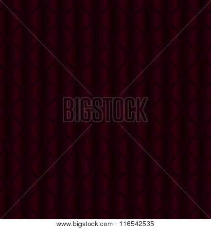 Seamless Pattern With Burgundy Shapes