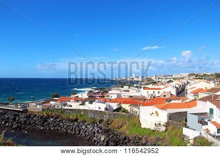 View On Ponta Delgada, Sao Miguel Island, Azores, Portugal
