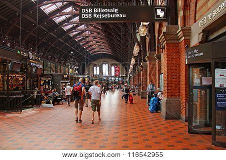 Copenhagen Railway Station, Denmark