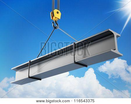 Crane Hook lifting steel part