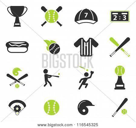 Baseball simply icons