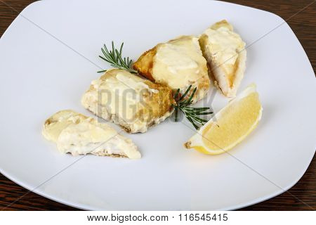 Baked Perch