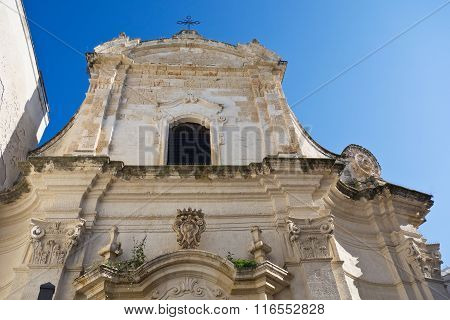 Amalfitana Church of Monopoli. Puglia. Southern Italy.
