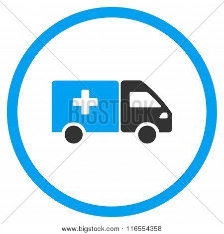 Drug Shipment Rounded Icon