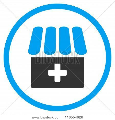 Drugstore Rounded Icon