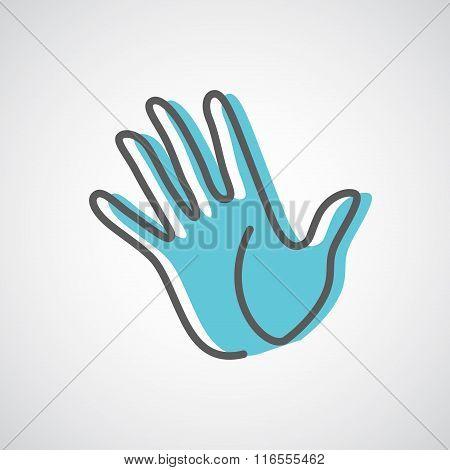 Hand Logo Design