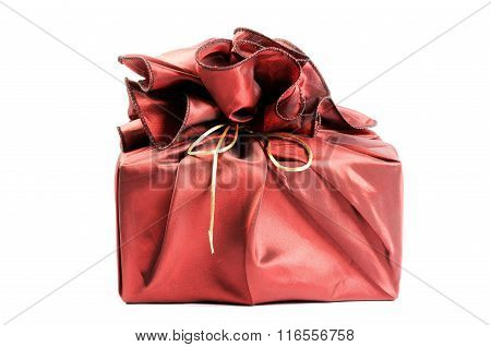 Red box with gift