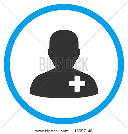 Medical Volunteer Rounded Icon