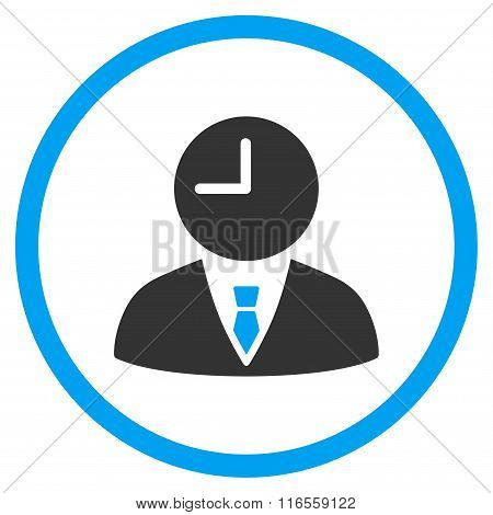 Time Manager Circled Icon