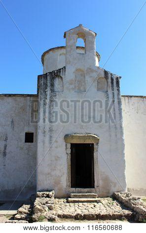 Ancient tiny small church