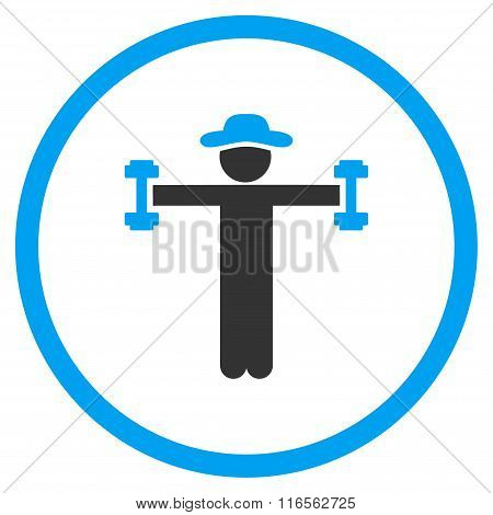 User Fitness Circled Icon