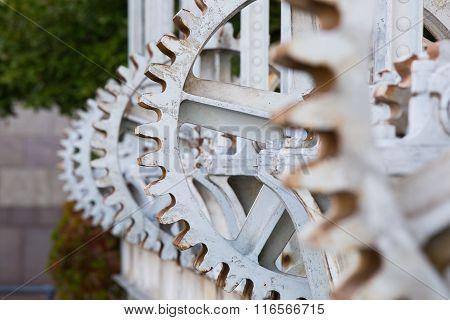 Cog Wheel Close-up