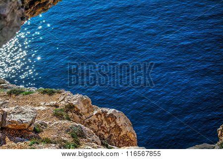 Blue Sea In Capo Caccia