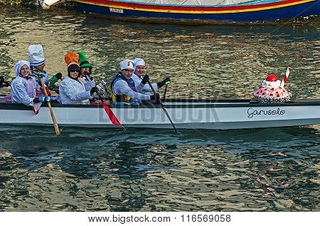 Opening Carnival Procession At Venice, Italy 5
