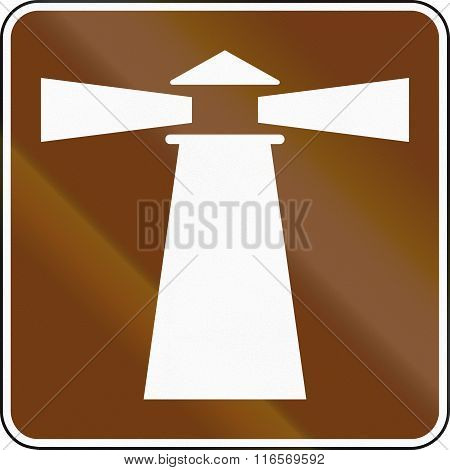 United States Mutcd Guide Road Sign - Lighthouse