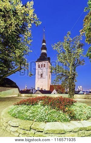 St. Nicholas Church In Tallin