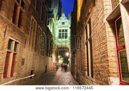 Blinde-ezelstraat In Bruges