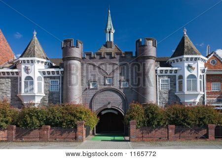 Fantasy Garden. Castle