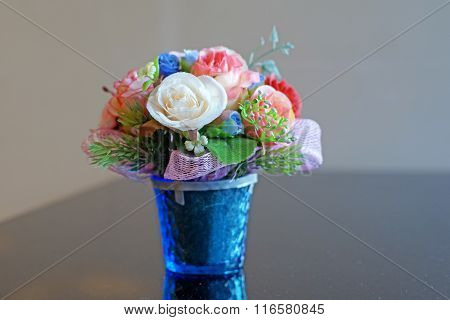 Colorful Of Rose Artificial Flower