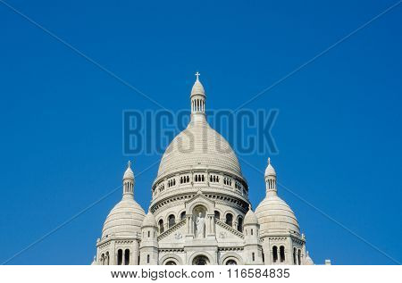 Basilique du Sacre Coeur church in Paris