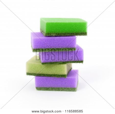 Sponge Stack, Isolated