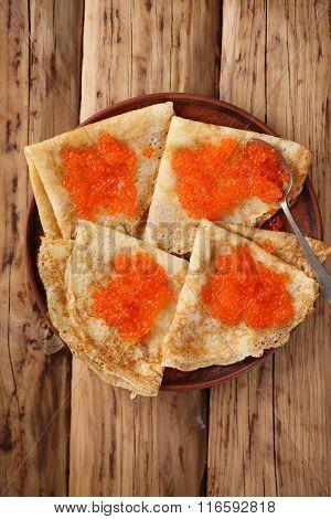 Salty snack for Shrovetide