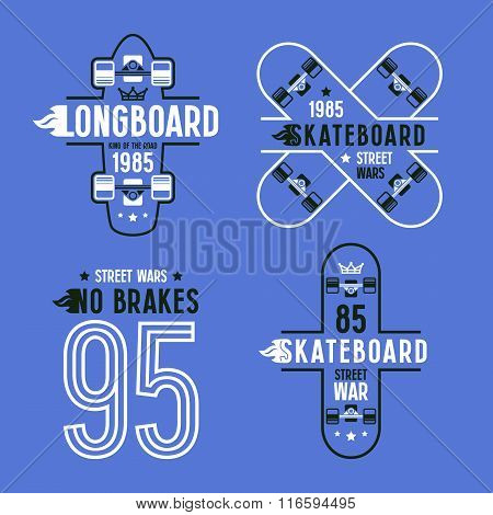 Skateboard And Longboard Badges