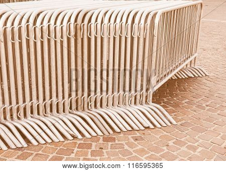 Temporary Fence Vintage