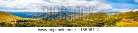 Carpathian Mountains Panoramic