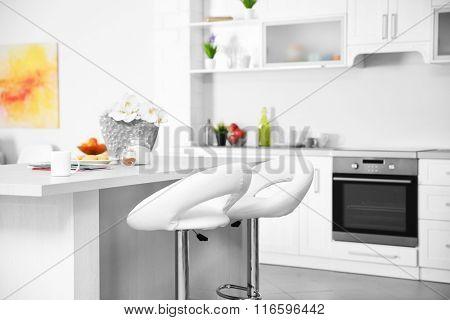 New designed kitchen interior