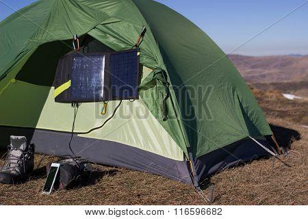 Camping elements equipment .
