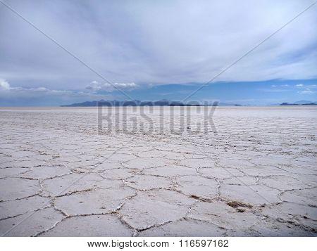 Great Salt Plain Salar De Uyuni