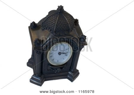 Antique Clock Remembers The Time