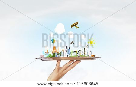 Presentation of real estate project