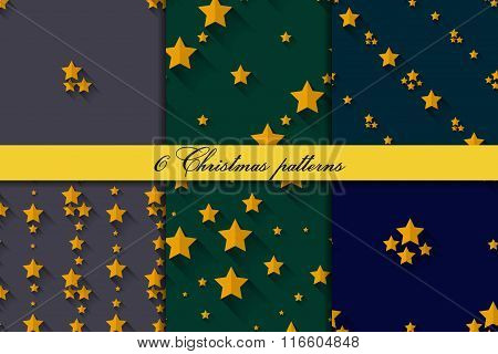 Seamless starry patterns