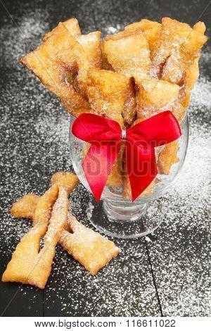 Faworki - Traditional Polish cookies
