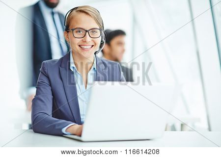 Busy operator